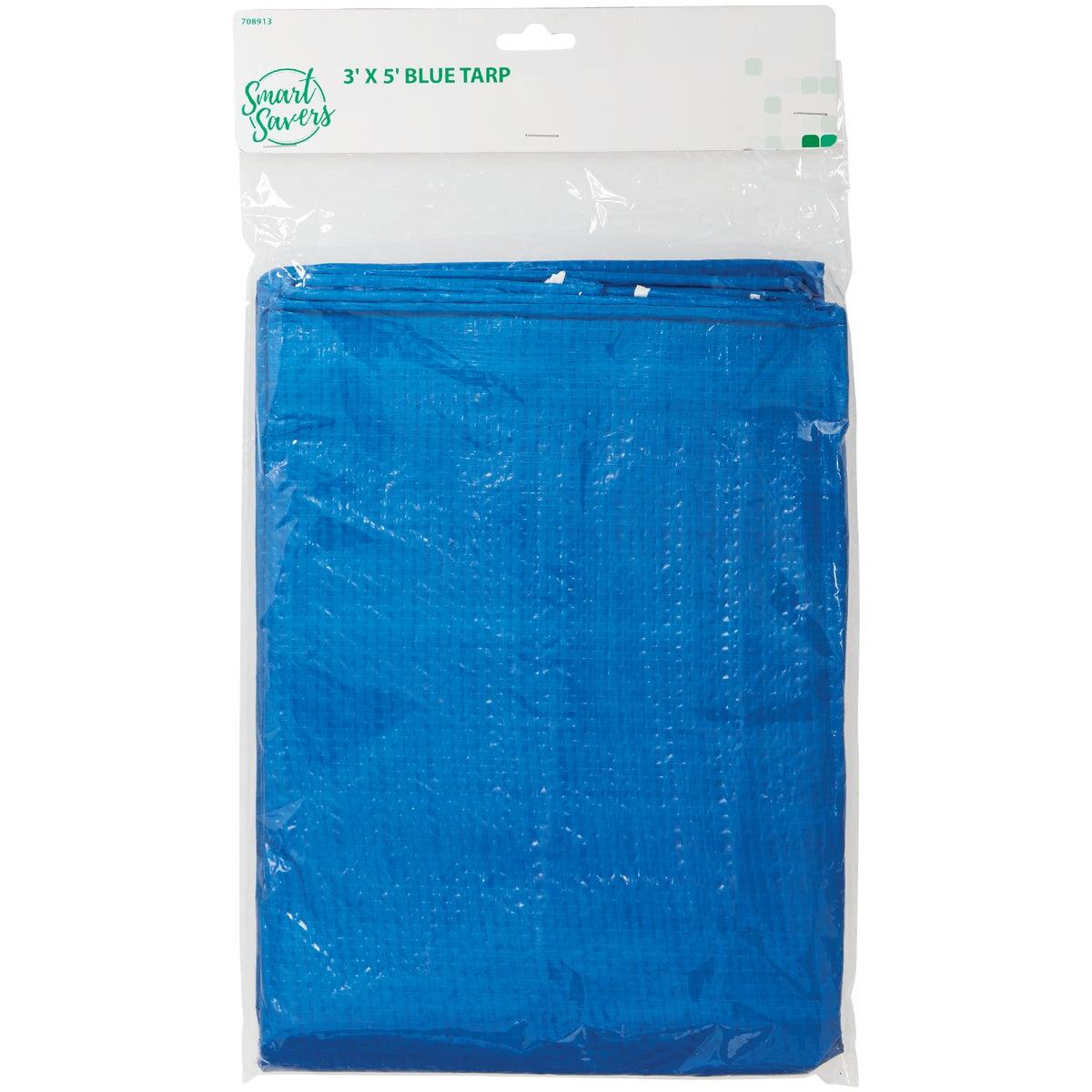 3X5 BLUE TARP