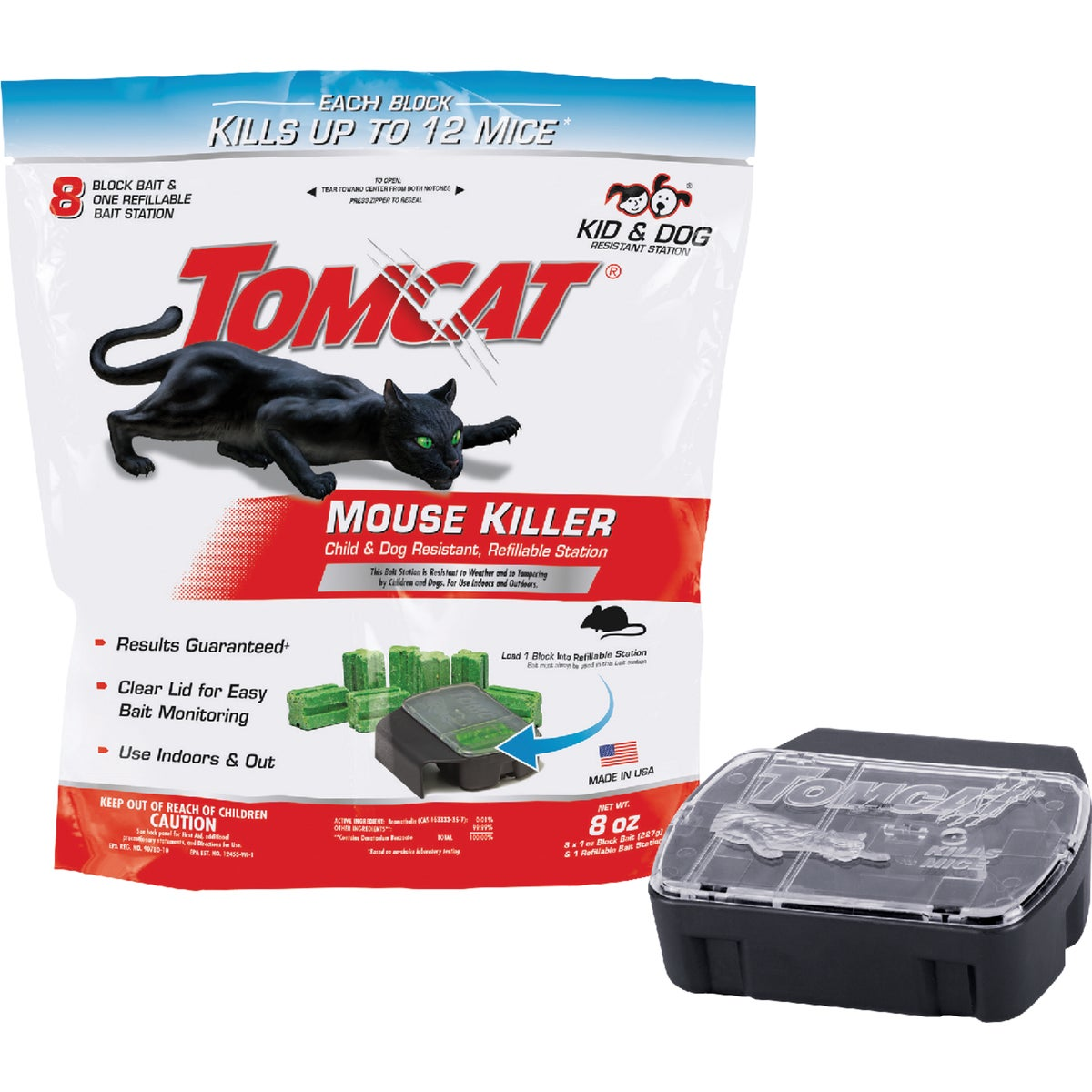MOUSE BAIT STATION 8 REF - BL22478 by Motomco Ltd