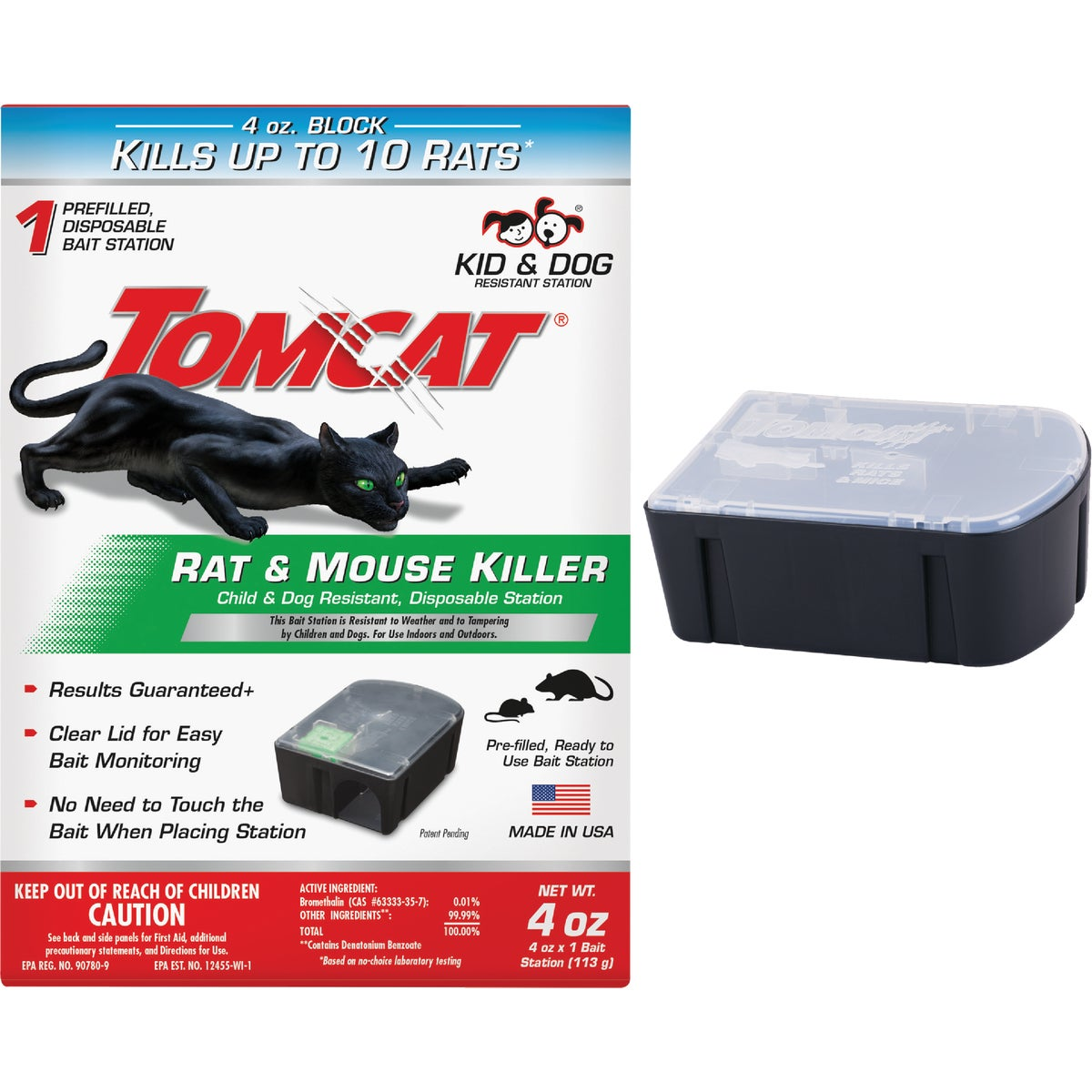 DISPOS RAT BAIT STATION