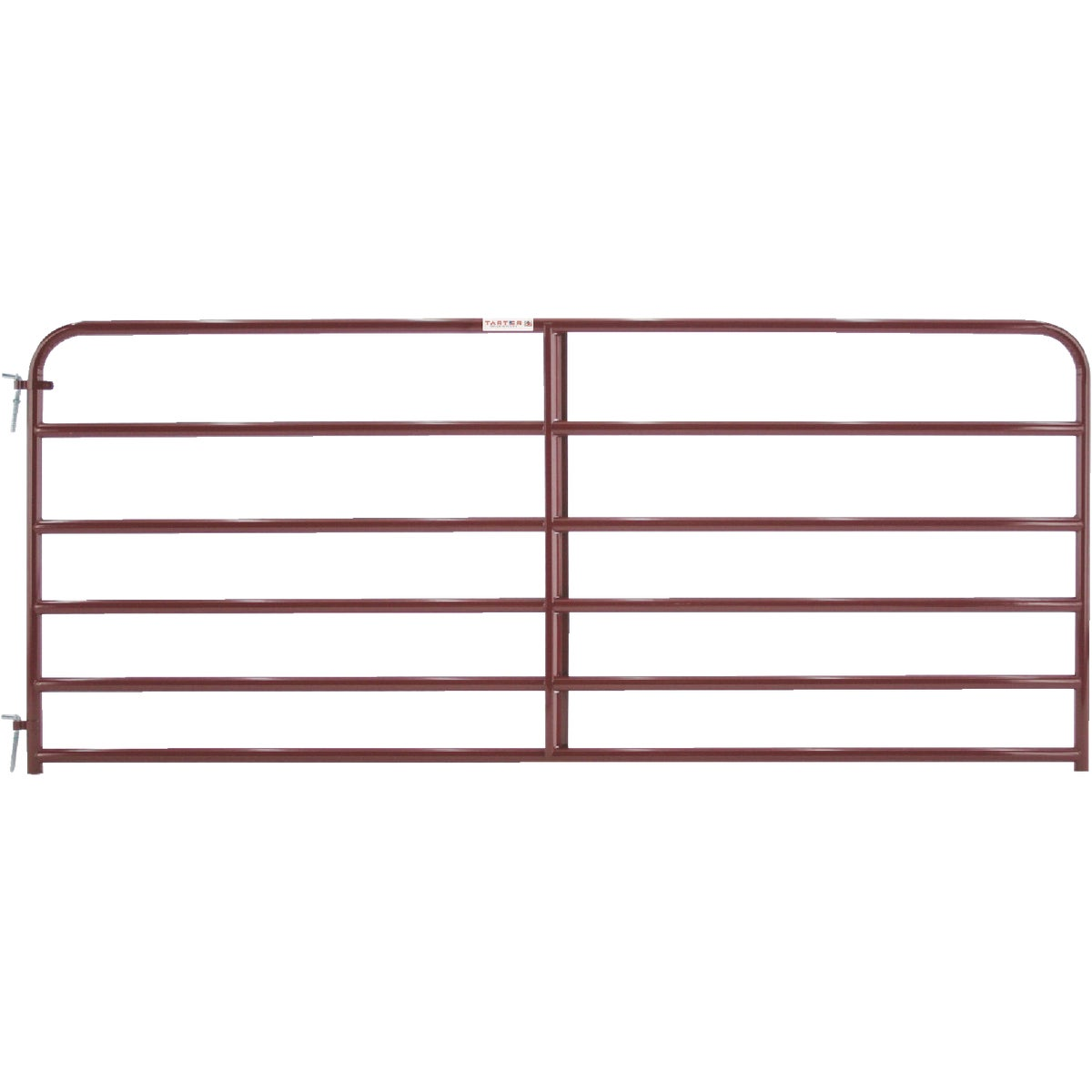 10' 6BAR RED ECONO GATE