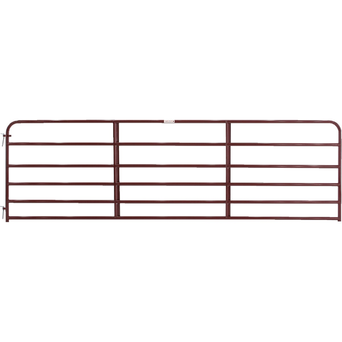 14' 6BAR RED ECONO GATE