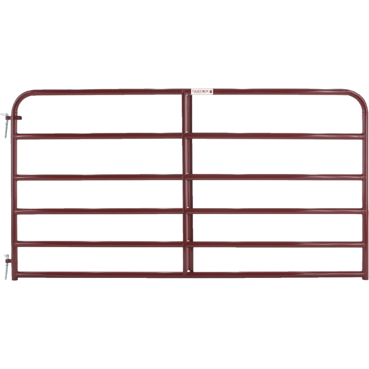 8' 6BAR RED ECONO GATE