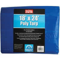 Do it Best GS Tarps 18X24 BLUE MED DUTY TARP 709115