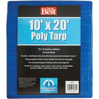 Do it Best GS Tarps 10X20 BLUE MED DUTY TARP 709123