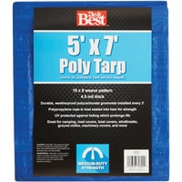 Do it Best GS Tarps 5X7 BLUE MED DUTY TARP 709353