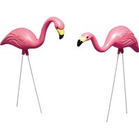 Kay Home Products 2 PACK PINK FLAMINGOS 4445