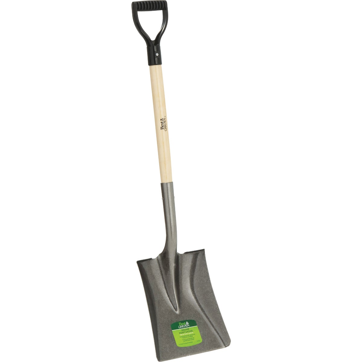 SQ PT WOOD D-HDL SHOVEL