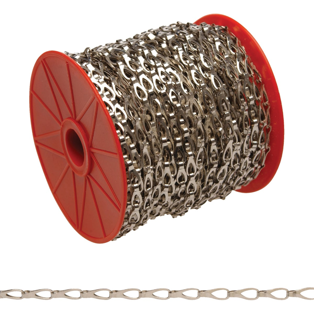 164'#2 CHROME SASH CHAIN - 0710227 by Cooper Campbell Apex