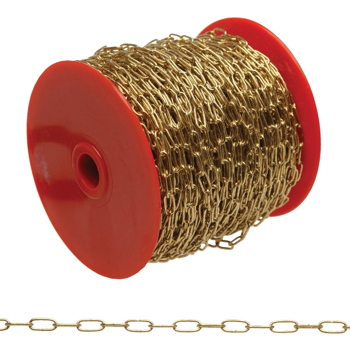 82' #5 BRASS CLOCK CHAIN - 0710517 by Cooper Campbell Apex