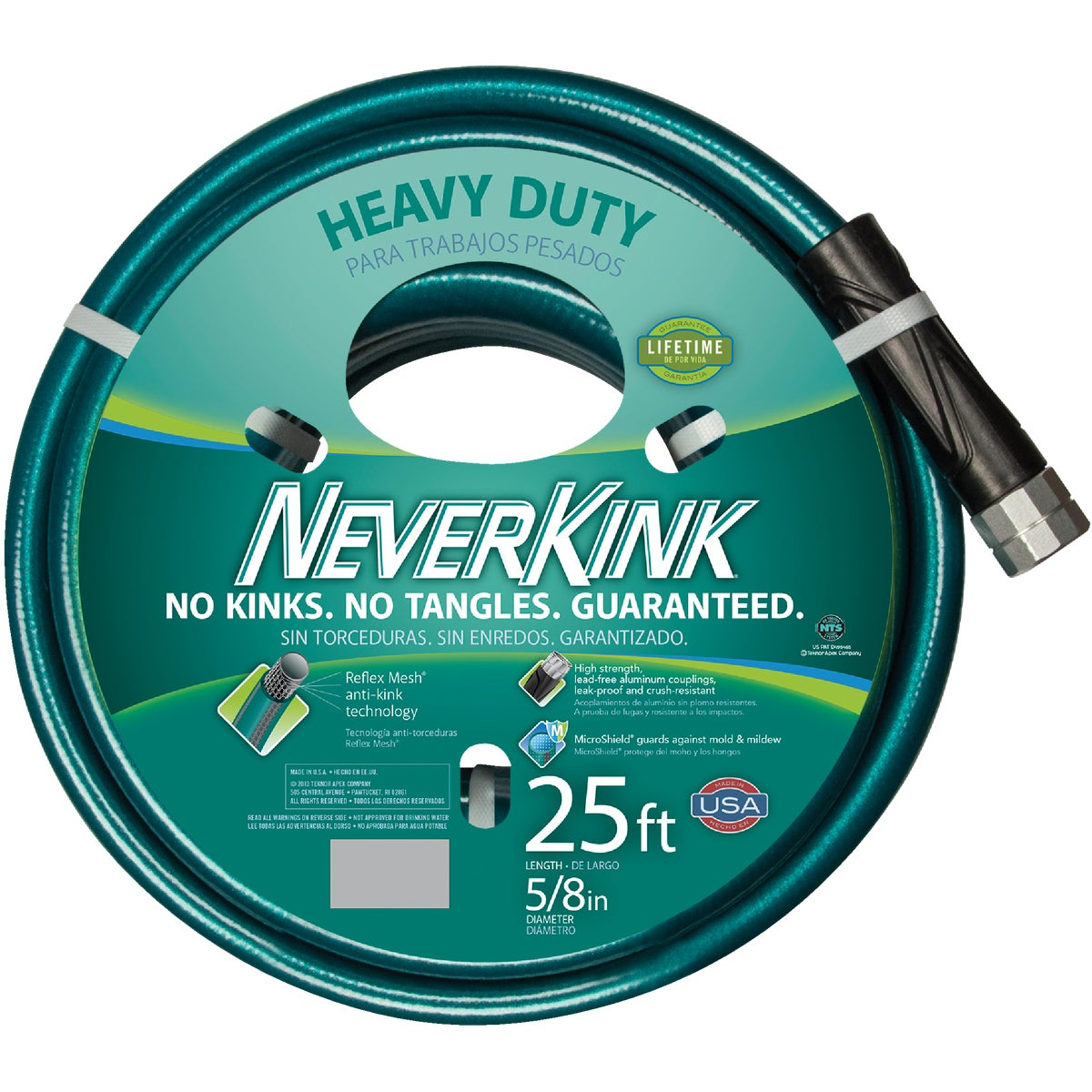 "5/8""X25' NEVERKINK HOSE - 8615-25 by Teknor Apex Co"