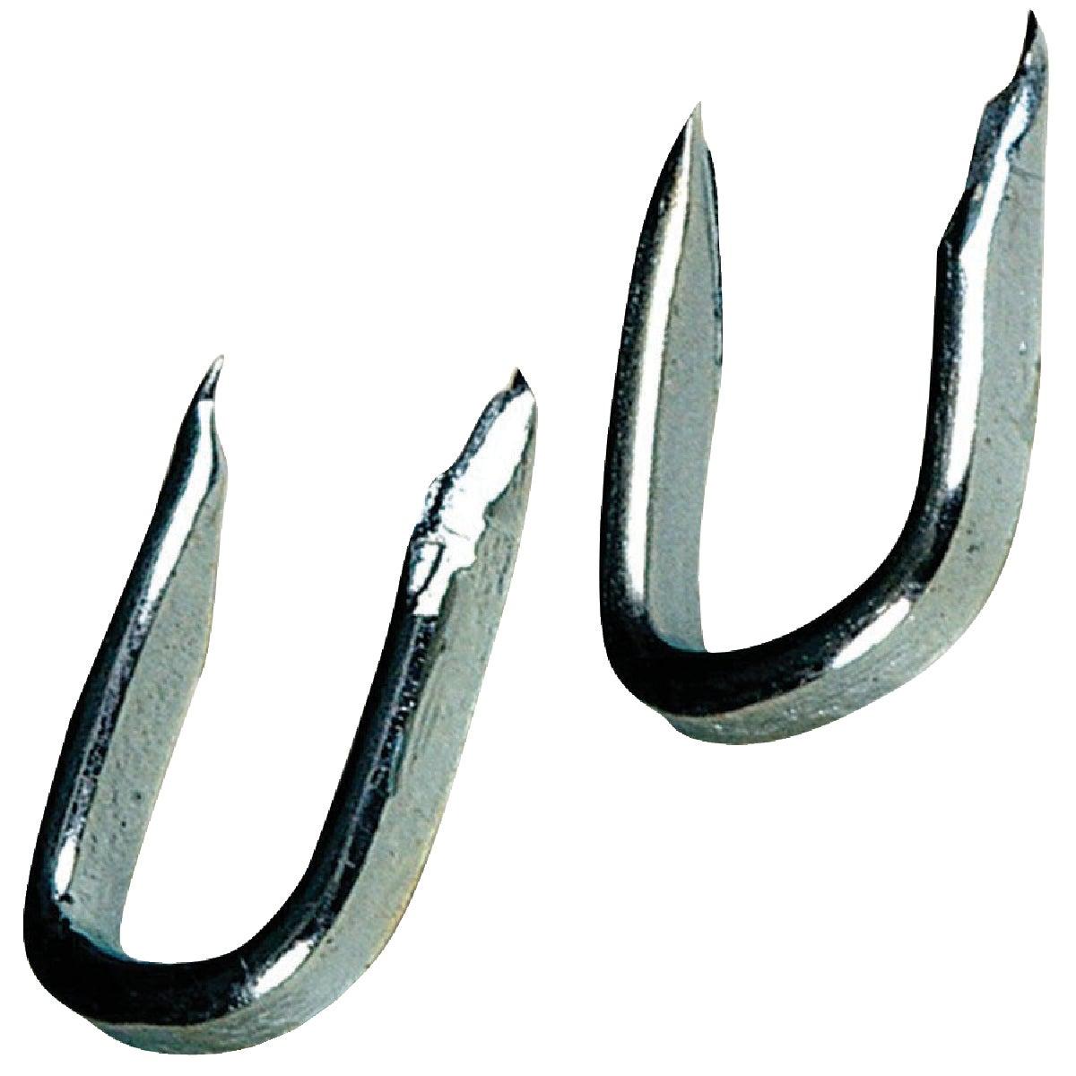 Hillman Anchor Wire 3/8 In. 5 ga Galvanized Steel Fence Staple (6 Ct., 1.5 Oz.)