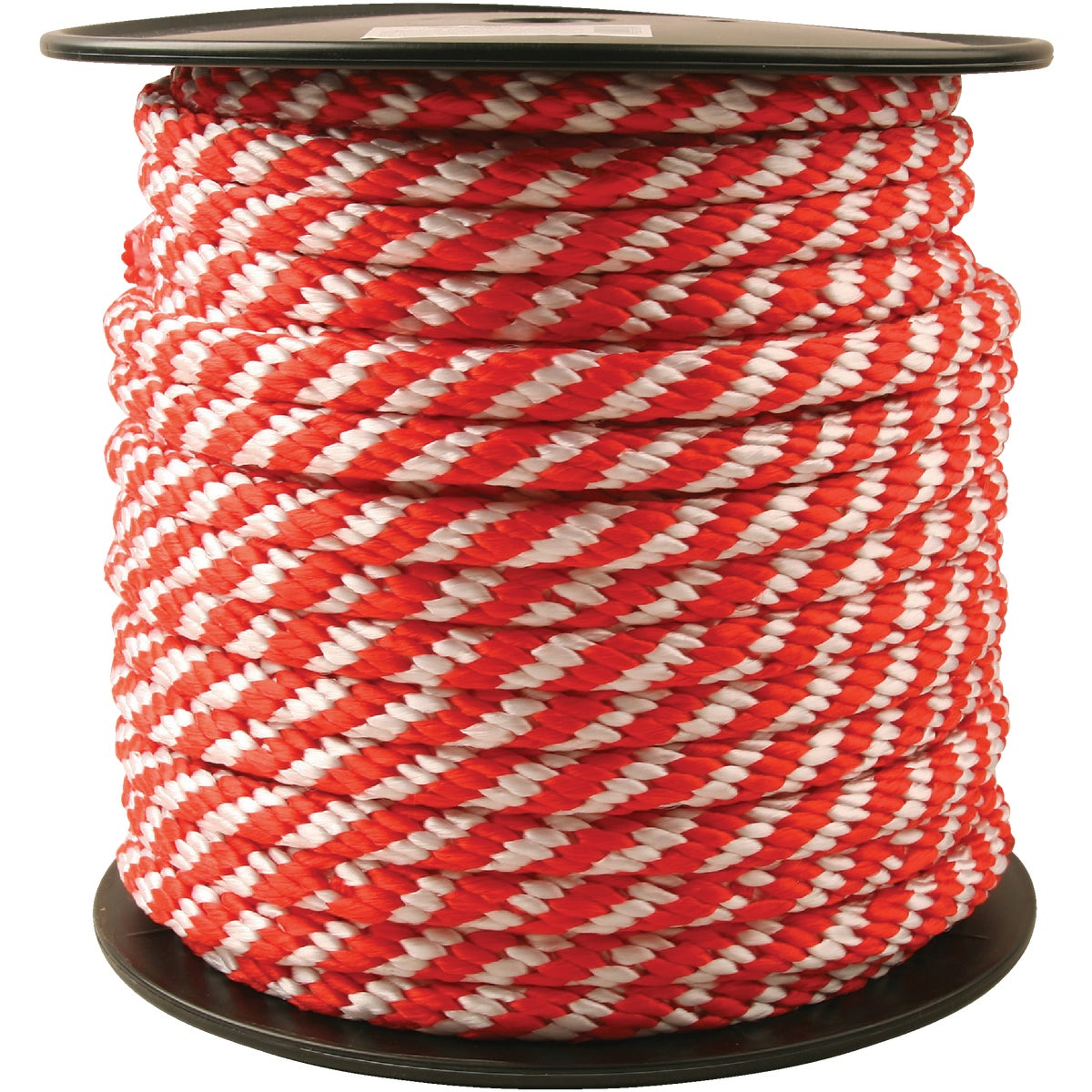 5/8X200'RED/W DERBY ROPE