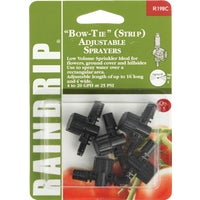 Raindrip Bow Tie Adjustable Sprinkler Head Sprayer, R198CT