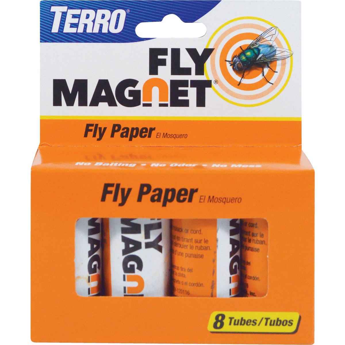 8PK FLY PAPER - HG-31108 by United Industries Co