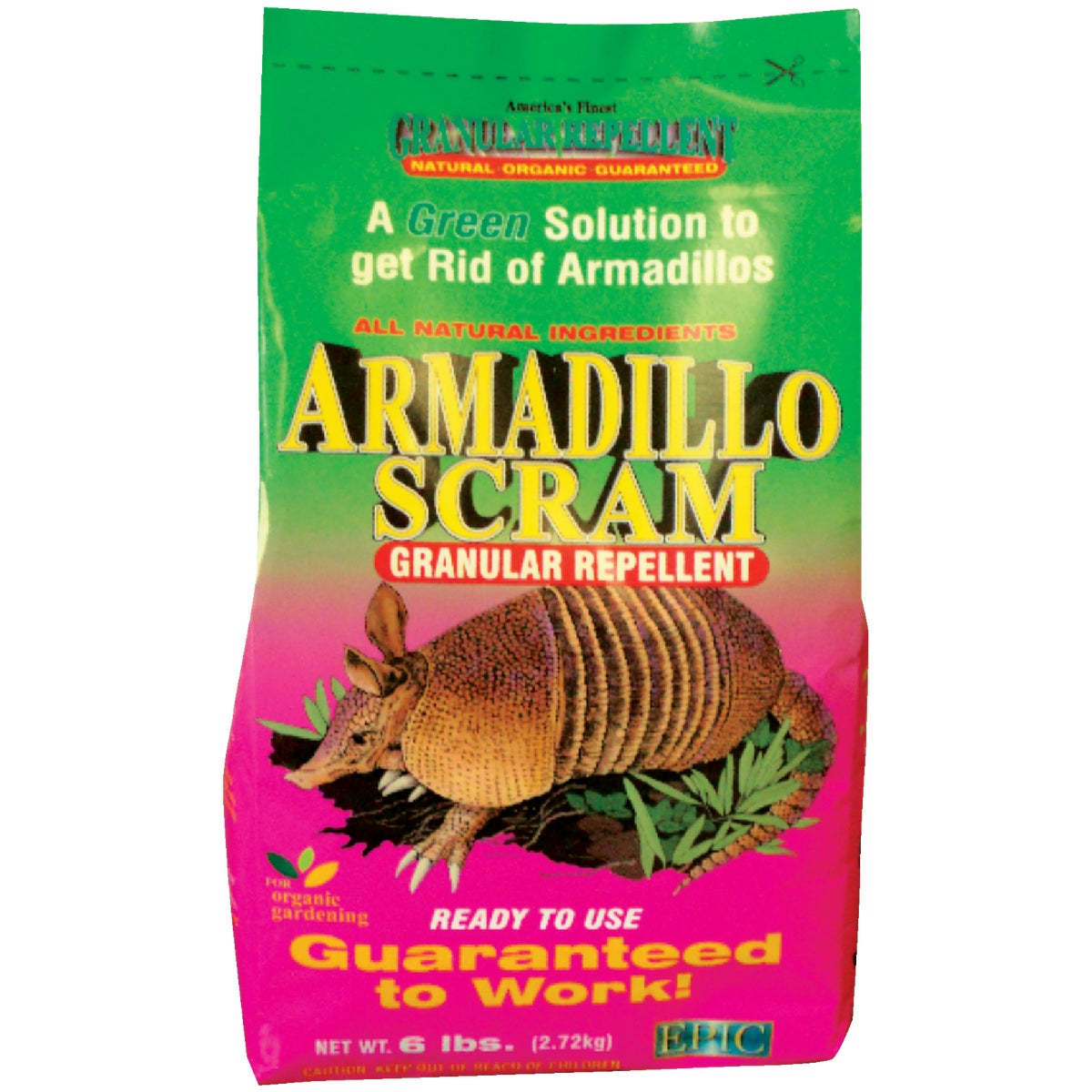 ARMADILLO REPELLENT 6LB - 17006 by Enviro Protection