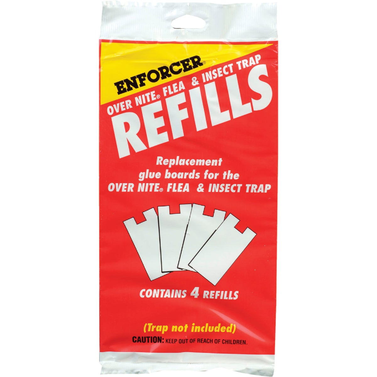 4PACK FLEA TRAP REFILLS - ONFTR by Zep Enforcer Inc