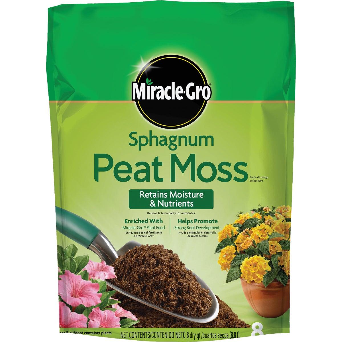 Scotts Organics 8QT PEAT MOSS 75278300