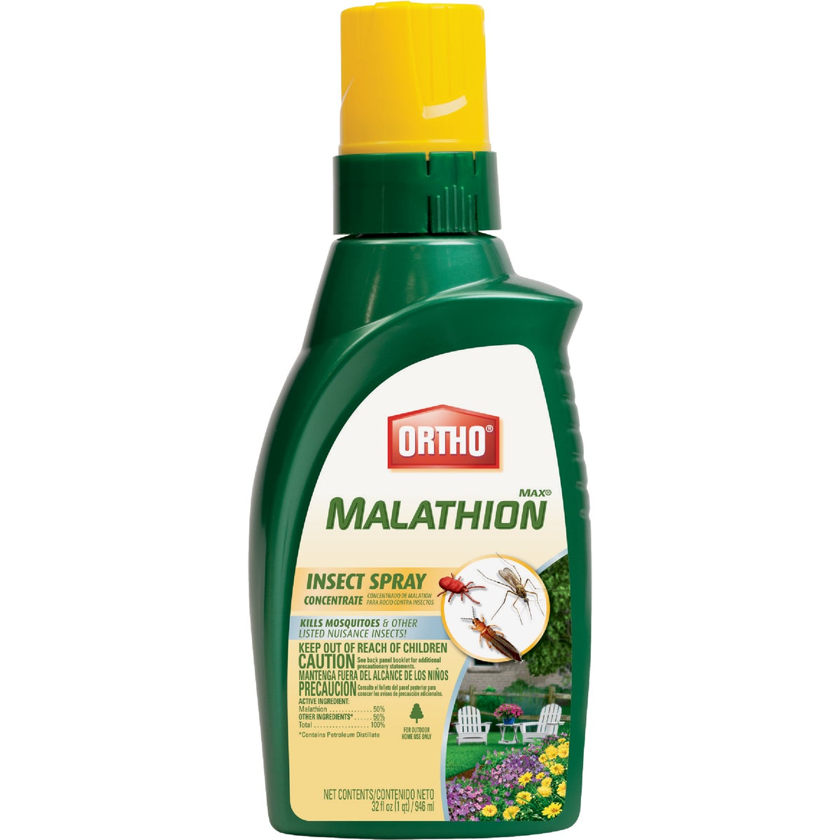 32OZ CONC MALATHION - 0166610 by Scotts Company