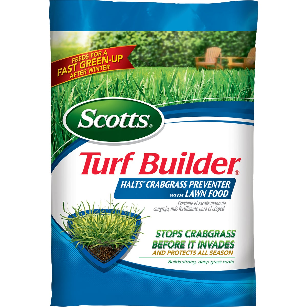 The Scotts Co. 15M HALTS + TURF BUILDER 3215