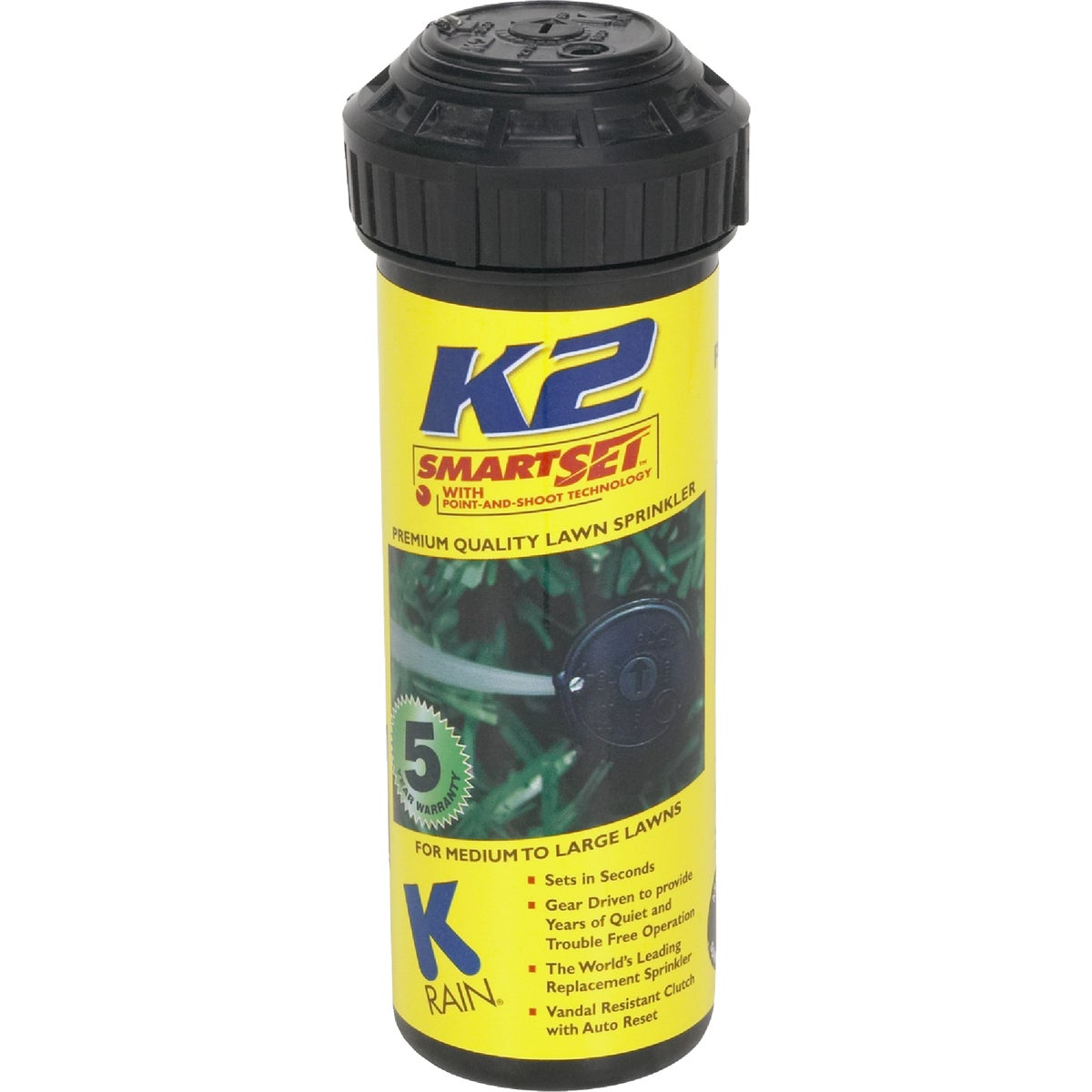 K2 GEAR DRIVE SPRINKLER - 91031 by K Rain Mfg Corp