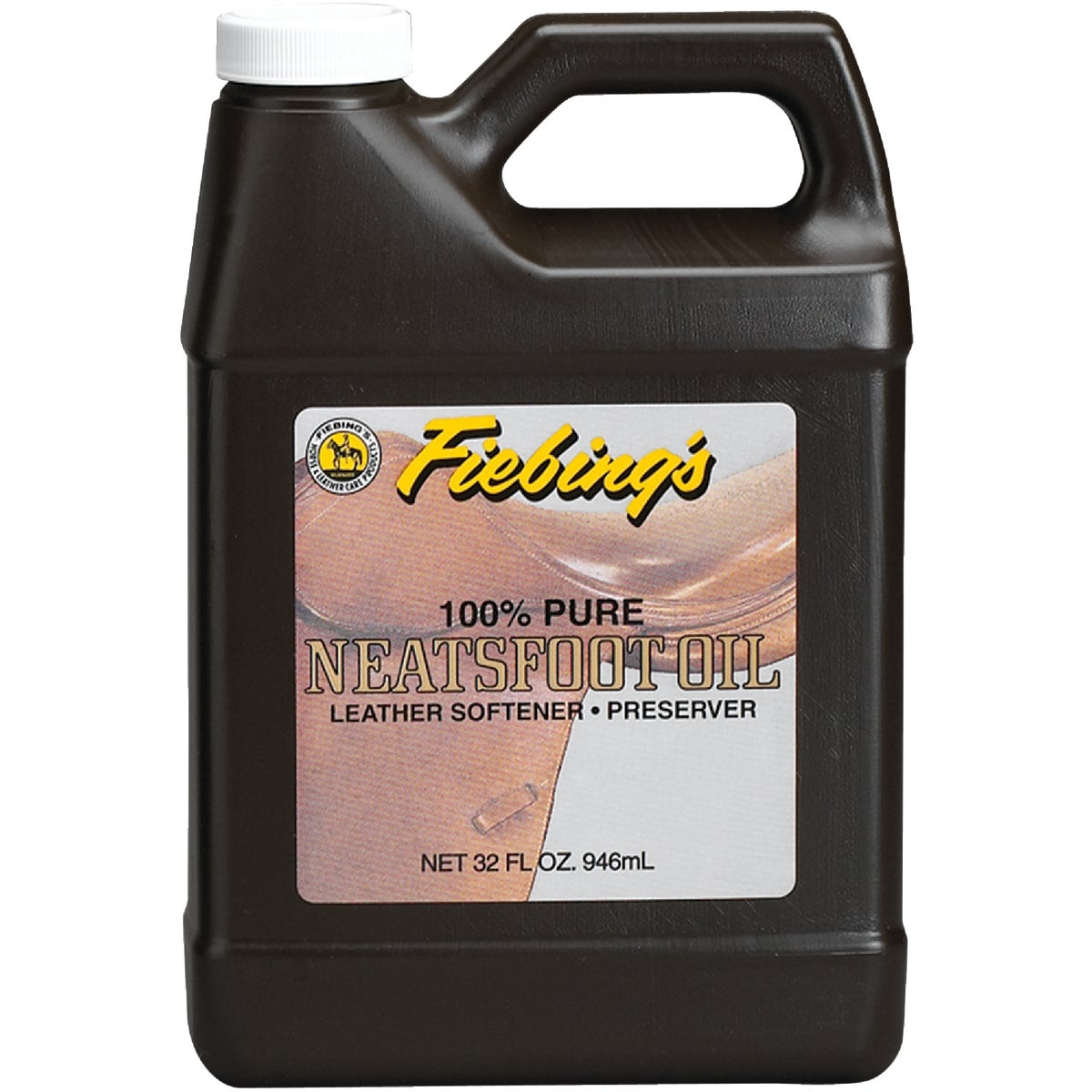 32OZ PURE NEATSFOOT OIL - PURE00P032Z by Fiebing
