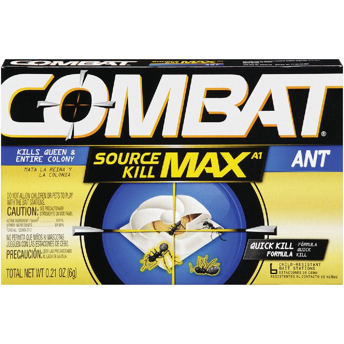 6PK COMBAT MAX ANT BAIT - 55901 by Lagassesweet  Incom