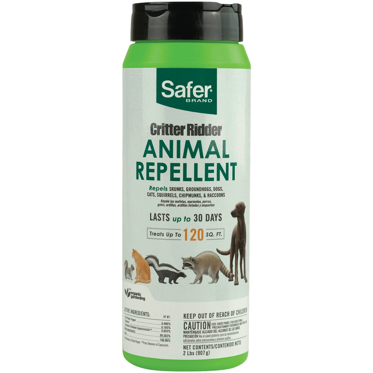 CRITTER RIDDER REPELLENT - 3142 by Woodstream Corp