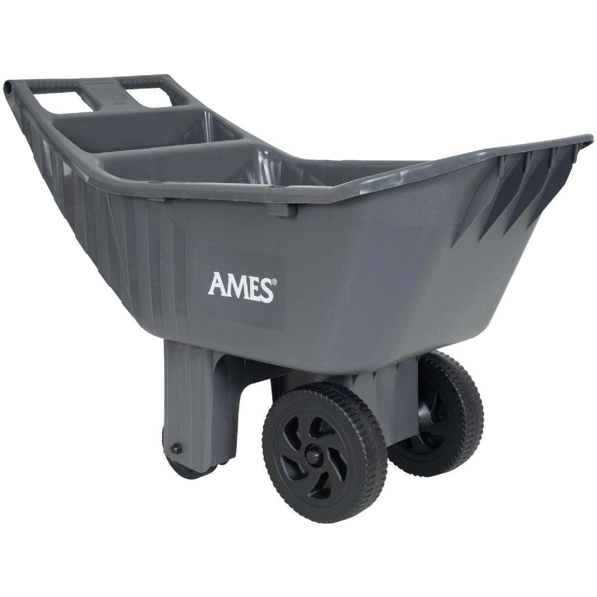 Ames Co. 4CU FT POLY GARDEN CART 2463875