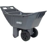 Ames Co. 4CU FT POLY GARDEN CART 2463875