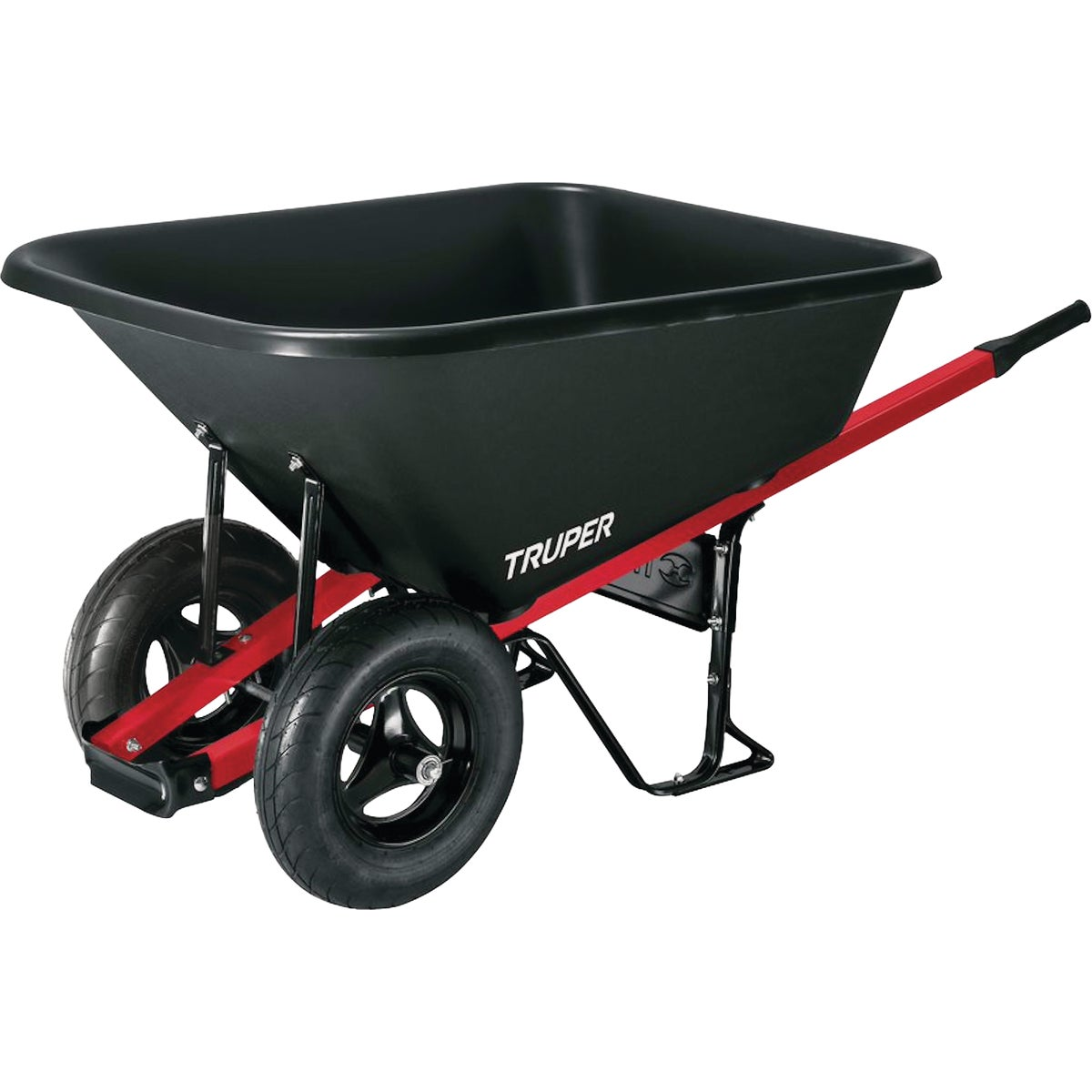 8 CU FT POLY WHEELBARROW