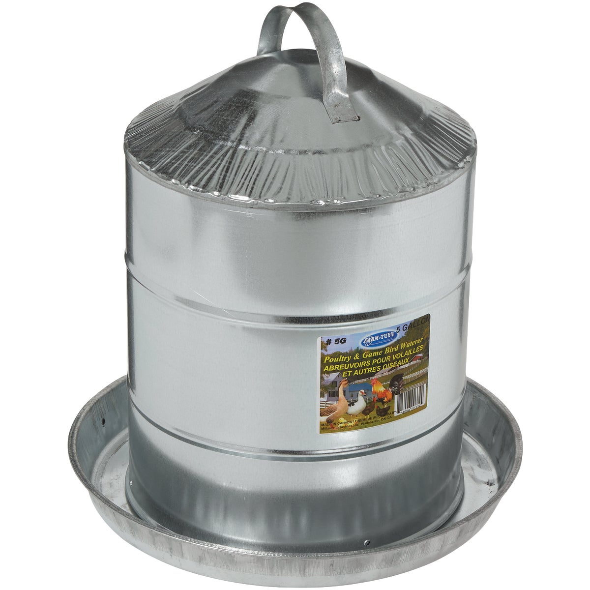 5GAL POULTRY FOUNTAIN - 9835 by Miller Manufacturing