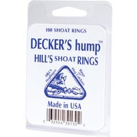 Decker Manufacturing 100PC HILL SHOAT RINGS #2