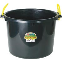 Miller Mfg. 70QT BLACK MUCK BUCKET PSB70BLACK