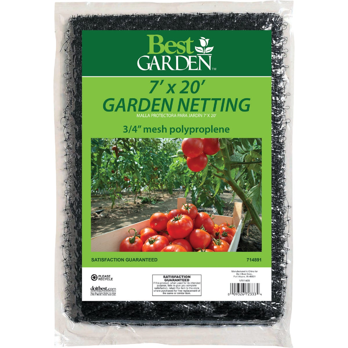 7X20 GARDEN NETTING - BN1 by Dalen Prod Inc