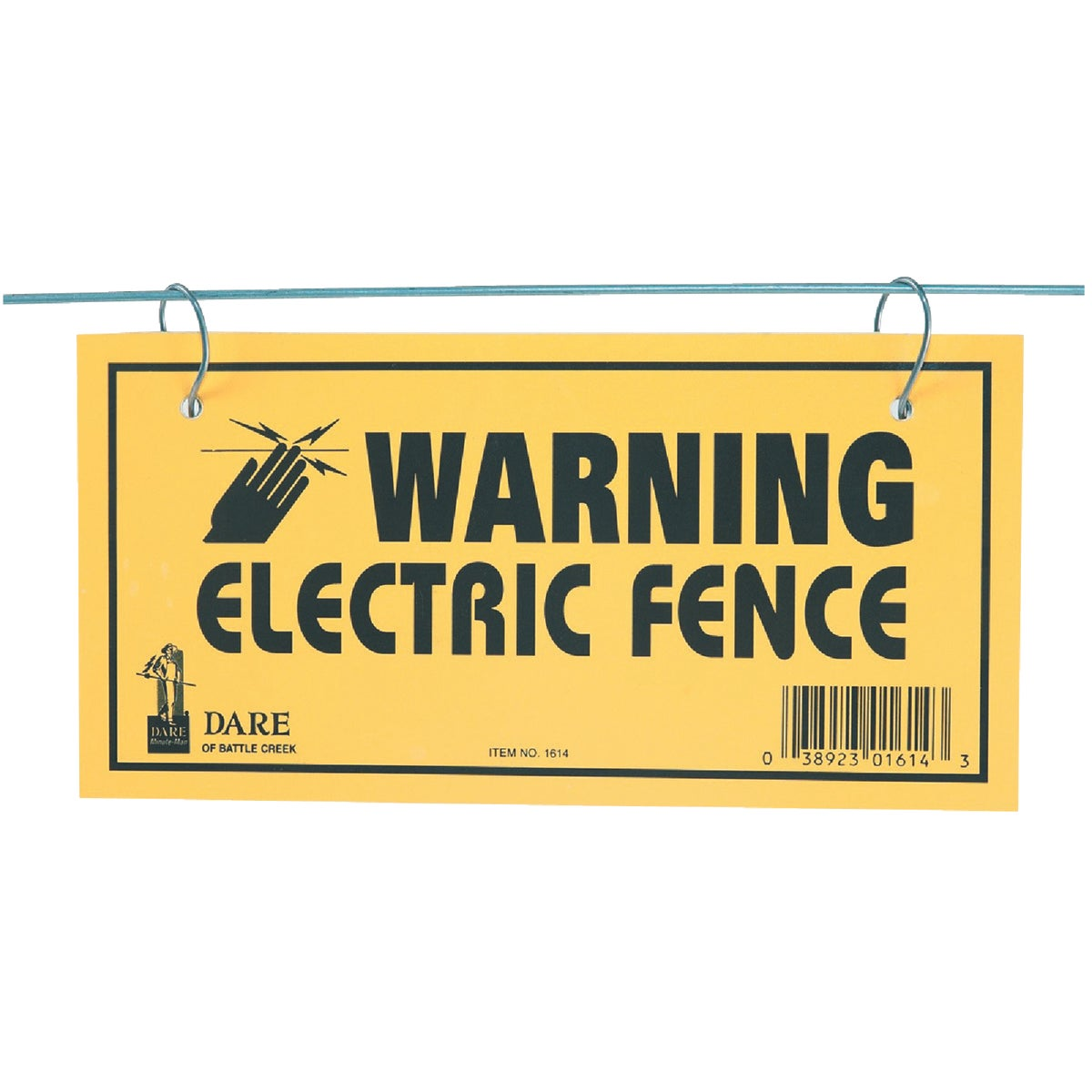 4X8 WARNING SIGN - 1614-3 by Dare Products Inc