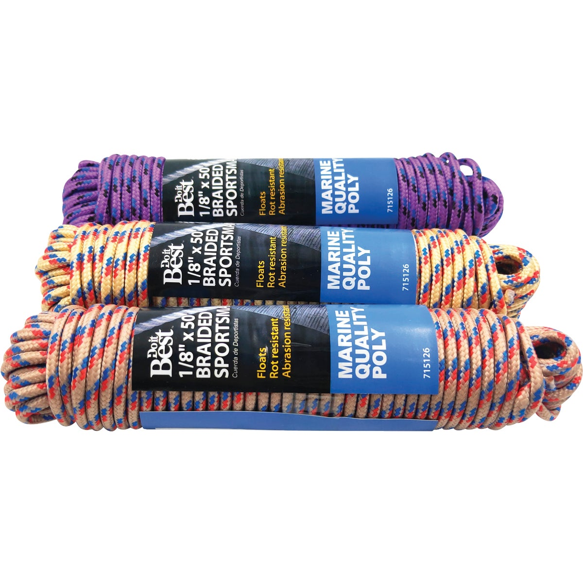"1/8""X50' SPORTSMAN ROPE - 715126 by Do it Best"
