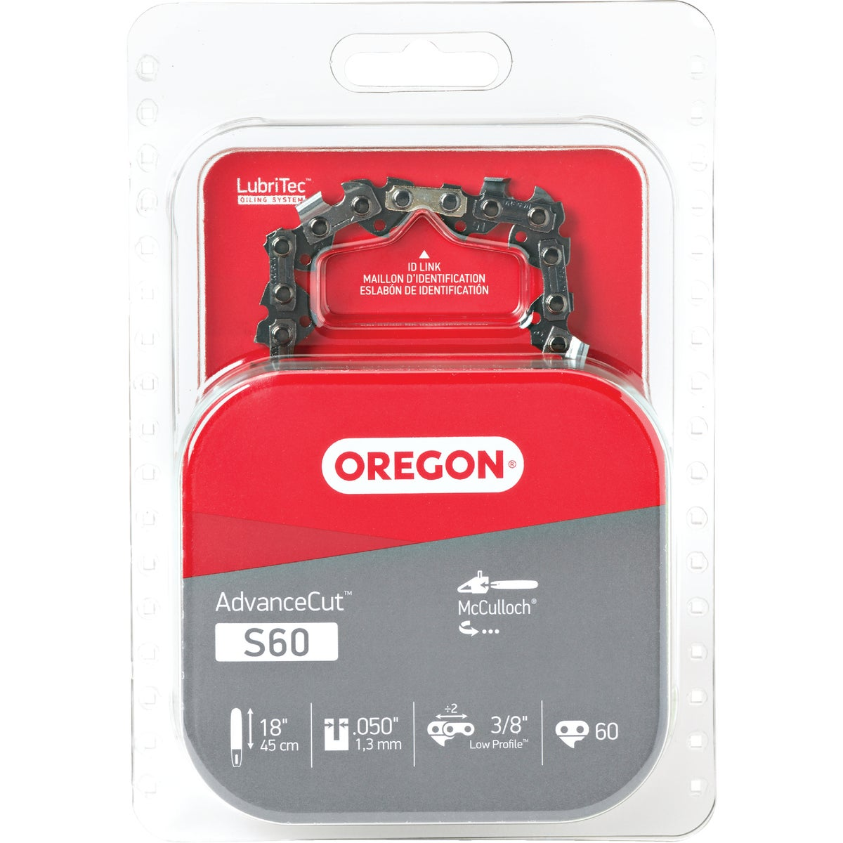 "18"" REPL SAW CHAIN - S60 by Oregon Cutting Systm"