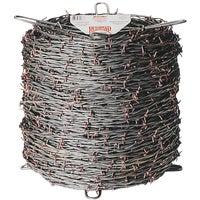 Keystone Steel & Wire 2-PT 15.5GA BARB WIRE 85564