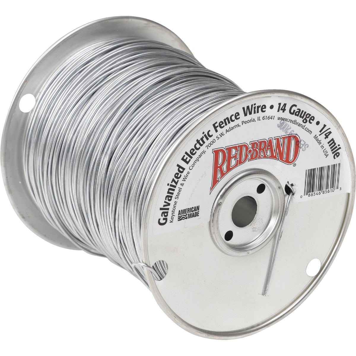 14GX1/2M ELEC FENCE WIRE - 85611 by Keystone Stl & Wire