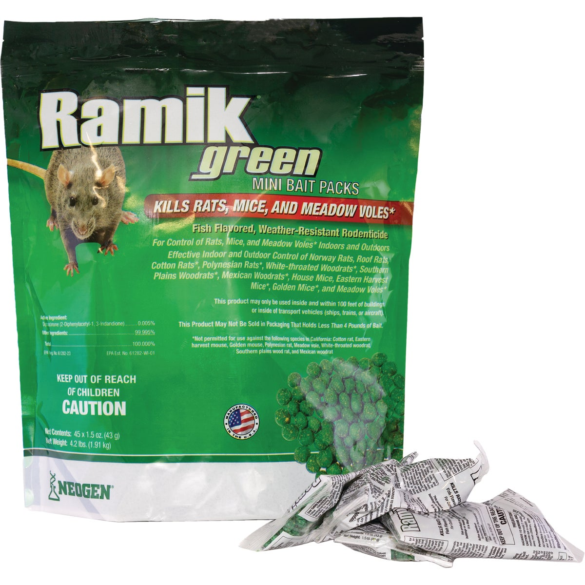 1.5OZ RAMIK MINI BAIT - 116316 by Neogen Corp