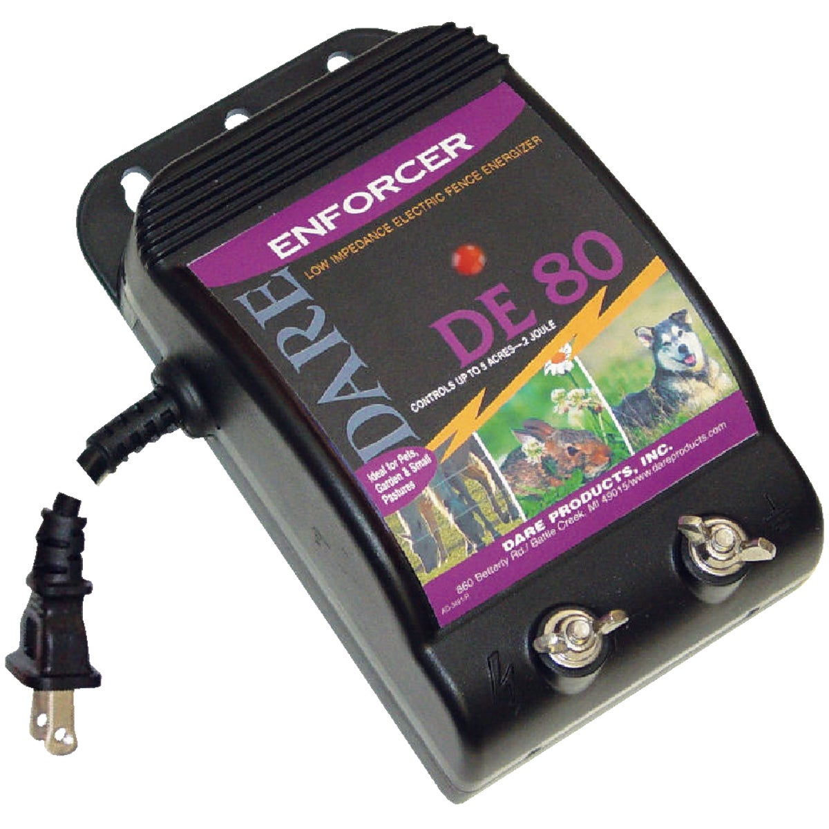 Woodstream ELECTRIC FENCE CHARGER 10ACRE