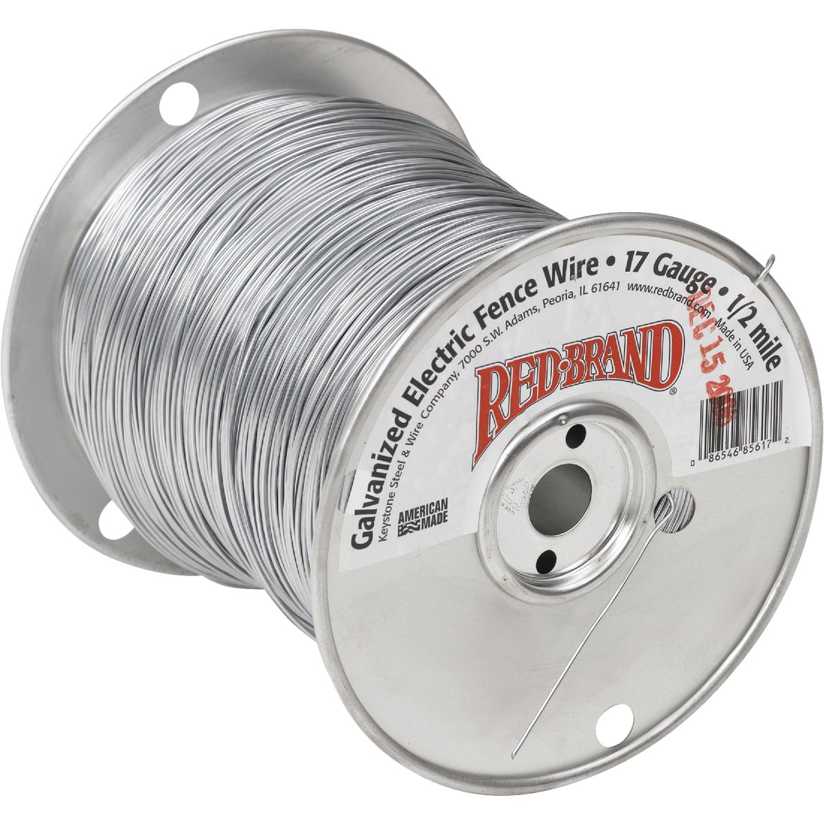 17GX1/2M ELEC FENCE WIRE - 85617 by Keystone Stl & Wire
