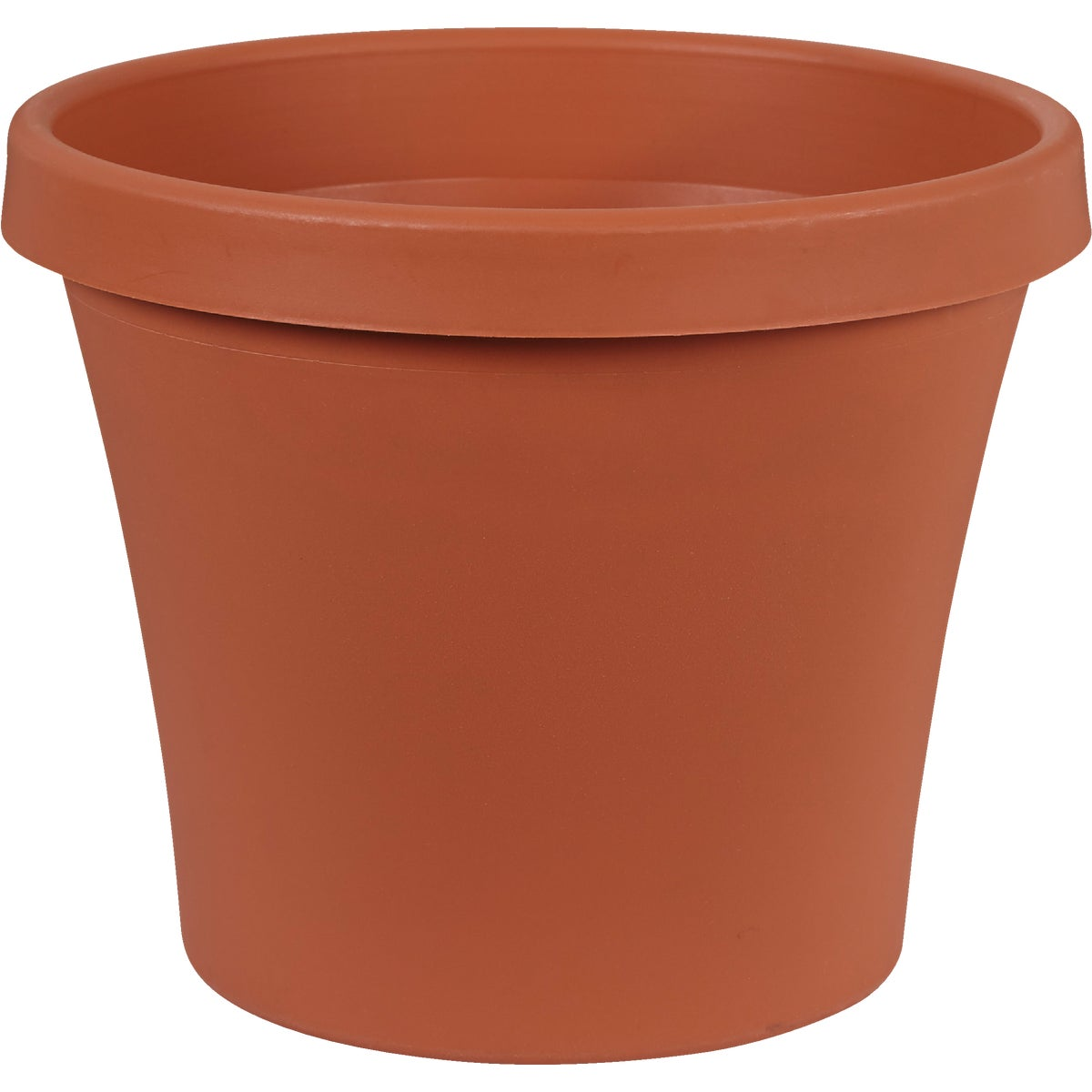 "12"" CLAY POLY POT - 50012C by Fiskars Brands Inc"