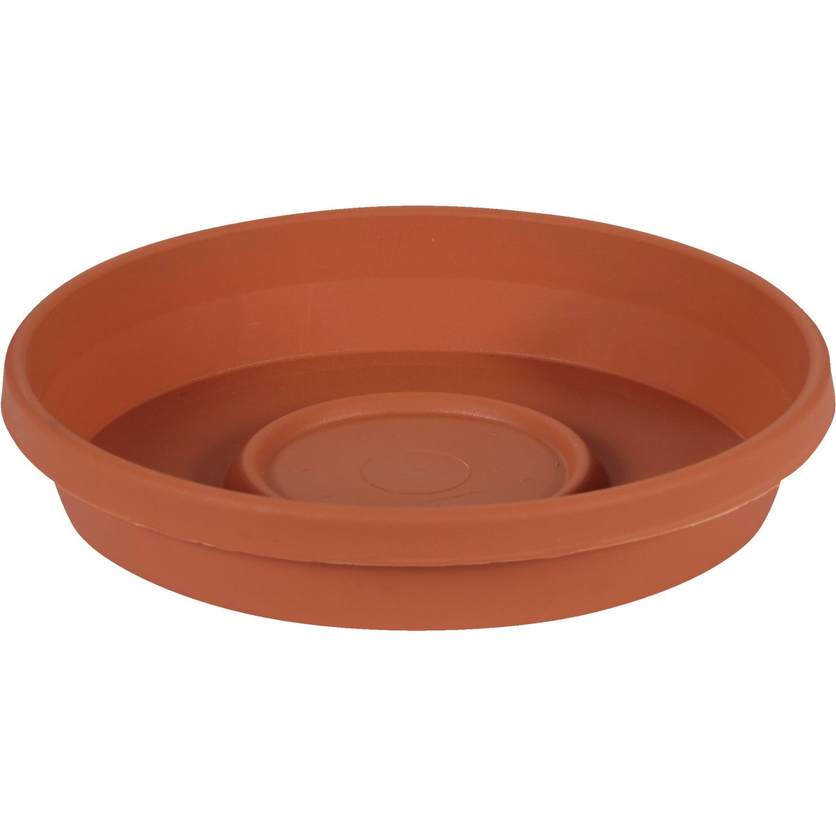 "6"" CLAY POLY SAUCER"