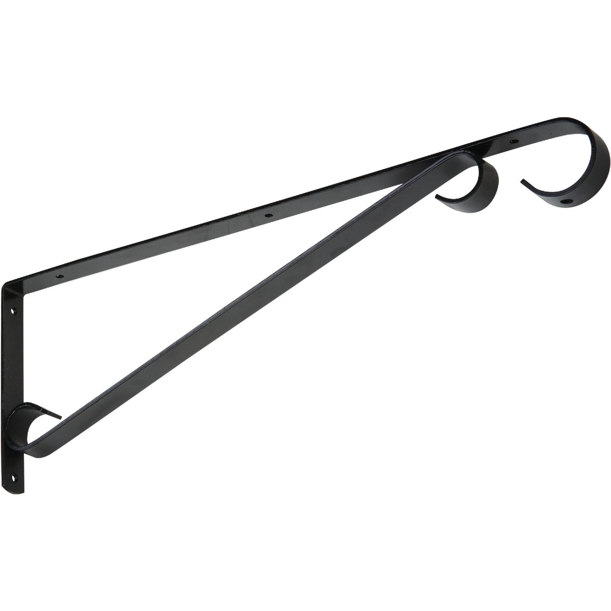 "15"" BLACK PLANT BRACKET - N274621 by National Mfg Co"