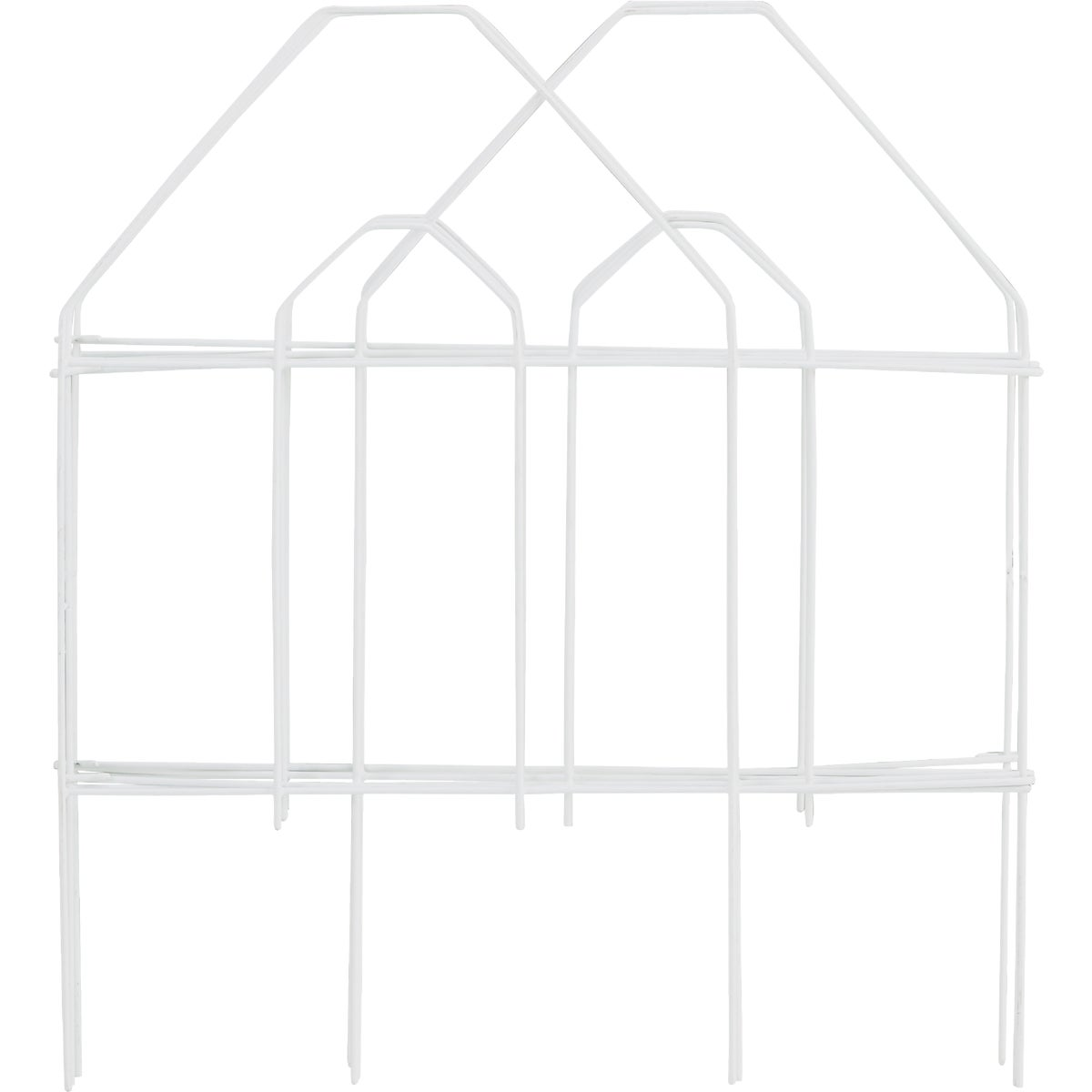 18X8 WHITE FOLDING FENCE - 718272 by Do it Best