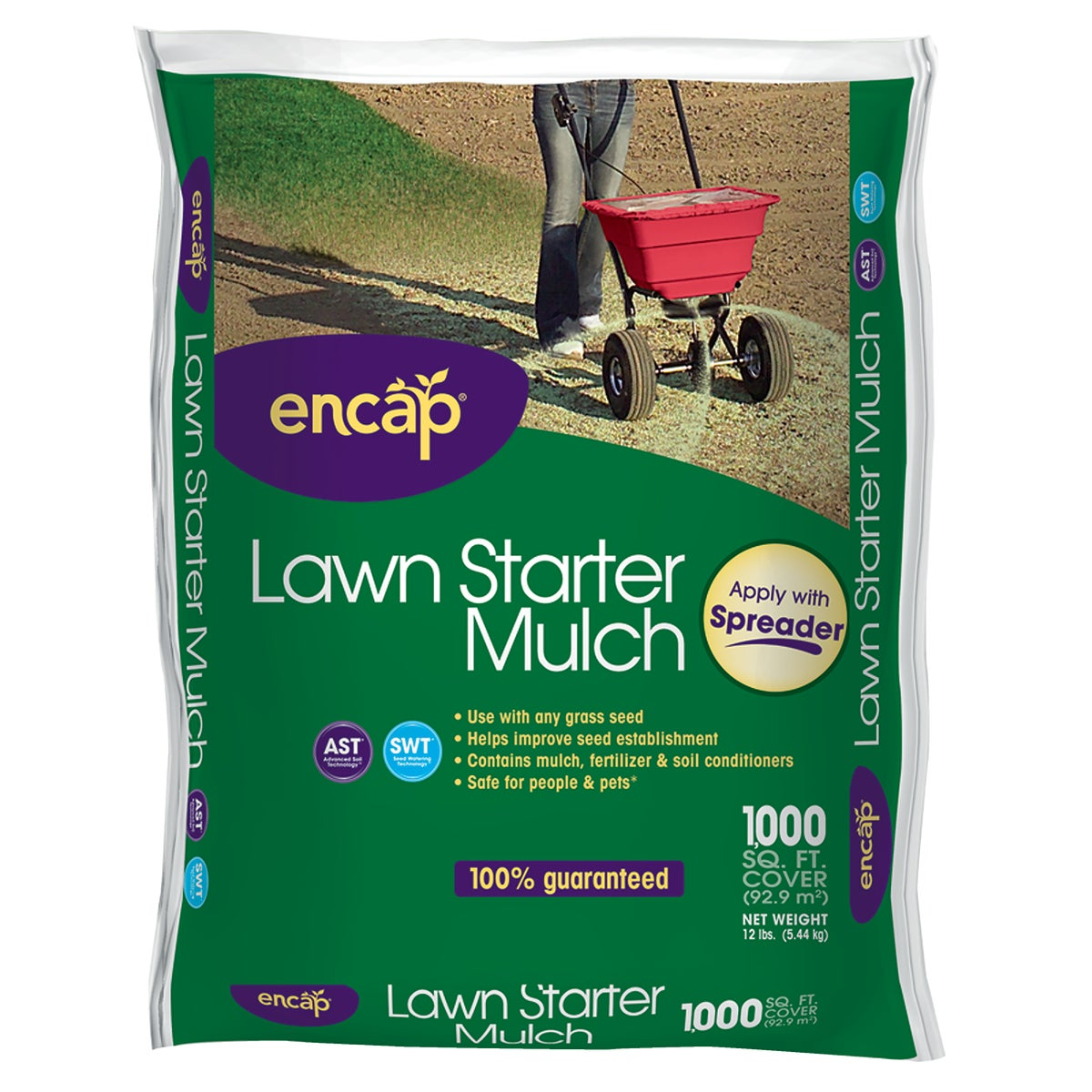 Encap LLC 12# LAWN STARTER MULCH 10741-4