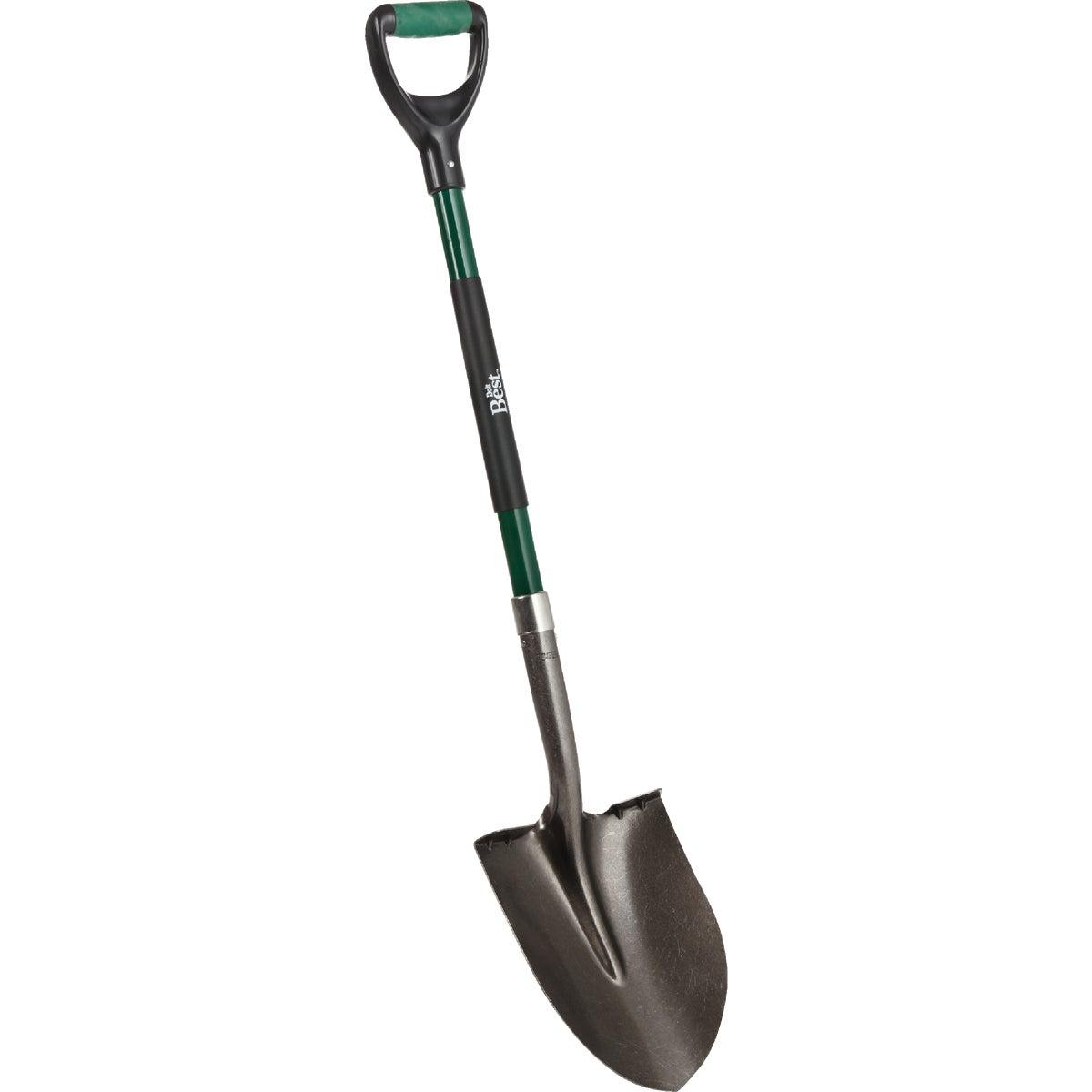 D-Hdl Round Pt Shovel