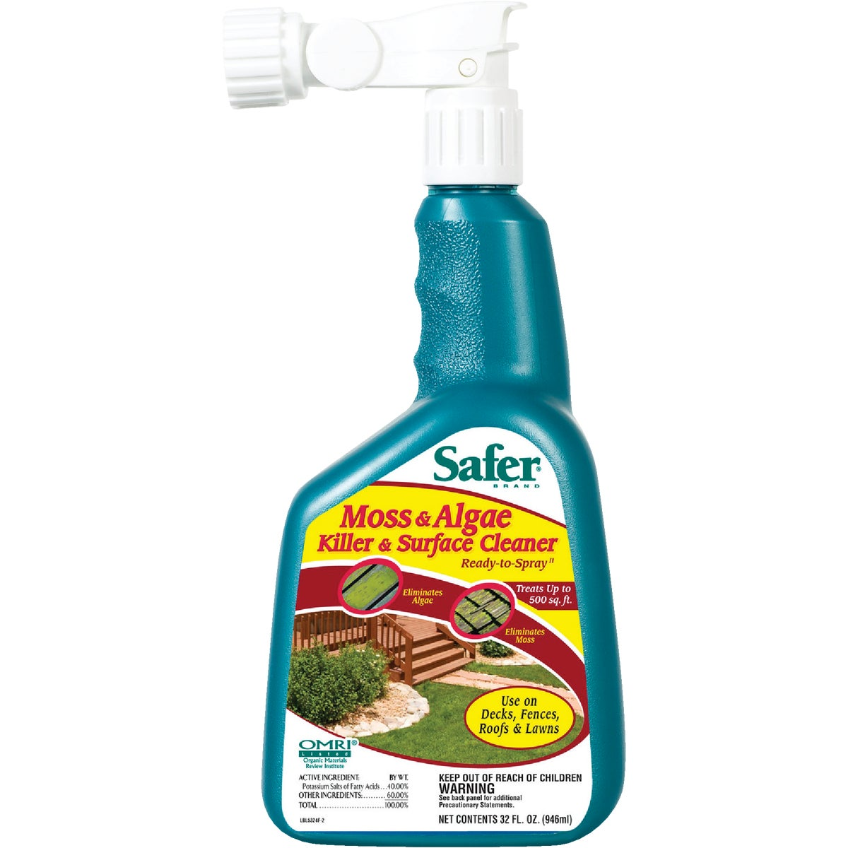 32OZ MOSS/ALGAE KILLER - 5324 by Woodstream Corp