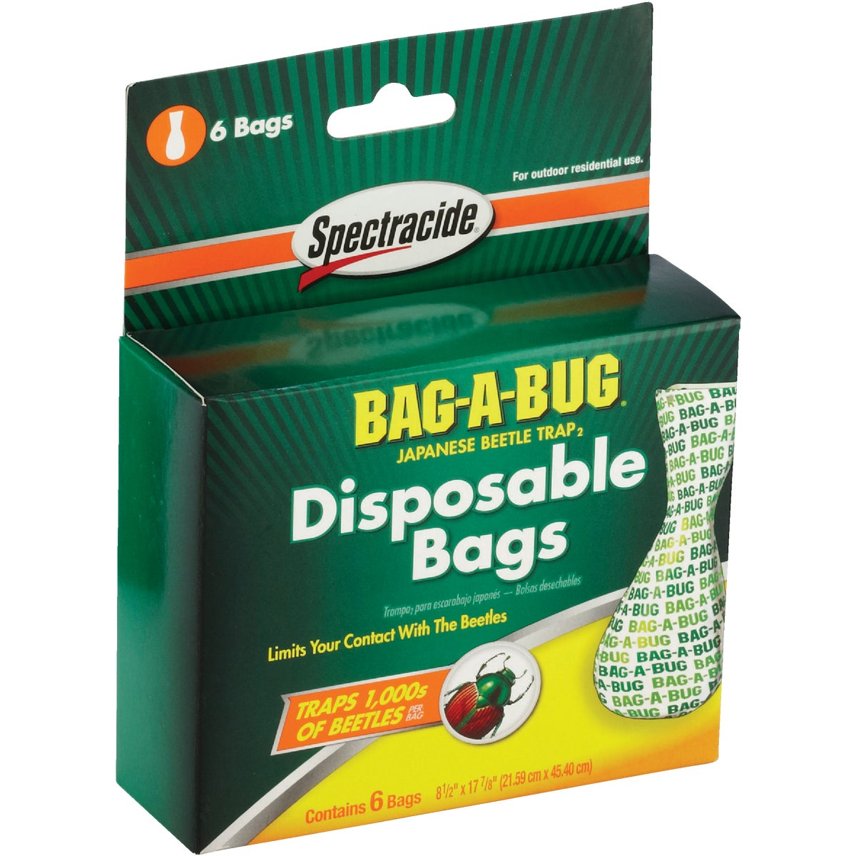 BEETLE TRAP REPLACE BAG - HG56903 by United Industries Co